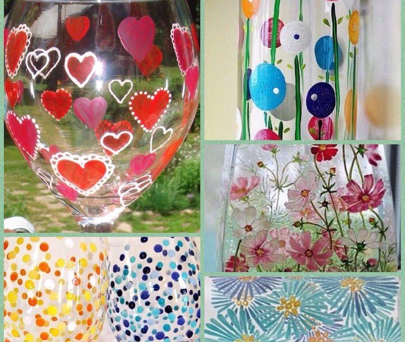 wo 9 okt Workshop glas beschilderen
