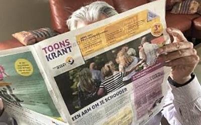 "Speciale Toons Krant i.v.m. ""Tien jaar Toon Hermans Huis Weert"""